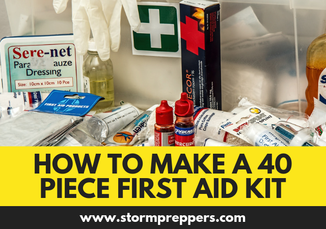 How to Make a 40 Piece First Aid Kit 2.0