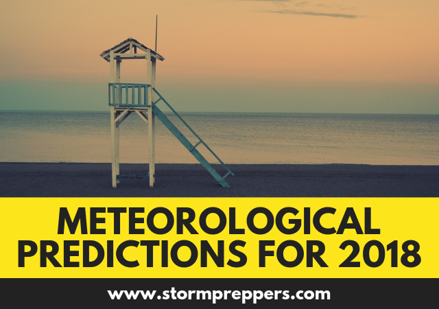 Meteorological Predictions for 2018