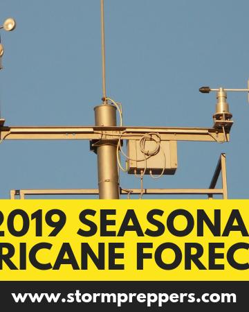 Atlantic Basin Seasonal Hurricane Forecast for 2019