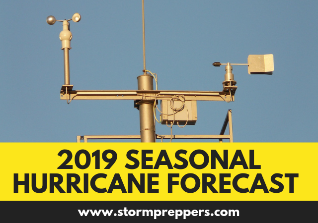 Atlantic Basin Seasonal Hurricane Forecast for 2019