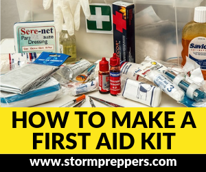 Storm Preppers Ad_ How to Make a 40 Piece First Aid Kit