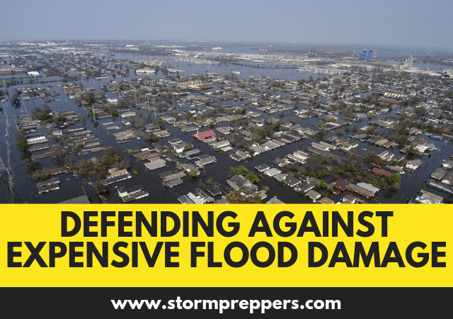 Defending Against Expensive Flood Damage