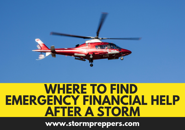 Where to Find Emergency Financial Help After a Storm