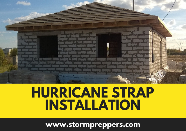 Hurricane Strap Installation