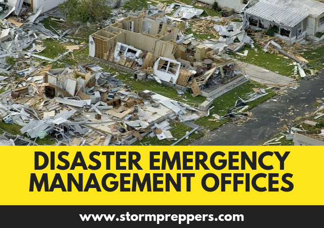 The Role of Disaster Emergency Management Offices